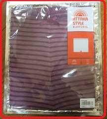 冷え性防止guあったか毛糸パンツ保温吸湿発熱M紫色