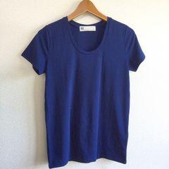 ◆SLY/スライ◆定番無地Tシャツ★ネイビー1*超美品♪シンプルコーデ