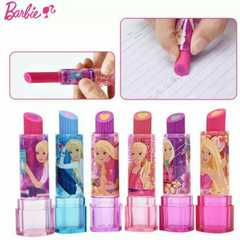Barbieリップステック消しゴム6色コンプリートセット