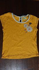 hakka kids 140 黄色のTシャツ