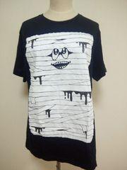★YAPONSTEE★monomania/包帯くんTシャツ★ブラック