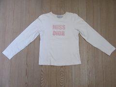 美品★Christian Dior★綿/白系/S★送料340円可