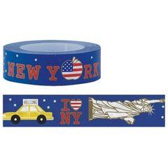 台湾製 Funtape ニューヨークNY マスキングテープ