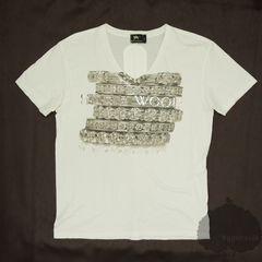 YGG★BUFFALO BOBS バッファローボブズ Vネック Tシャツ M