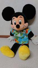 ディズニーランド×ミッキーマウス ぬいぐるみ×レトロ ビッグ