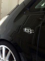 5色より選択 汎用ダミーミニダクト カーボン調 外装 フェンダー