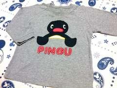 PINGU七分袖ロンTサイズ95�p肩ボタン付