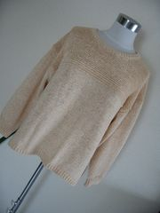 23区◆ざっくりニット セーター 大きい46・15号