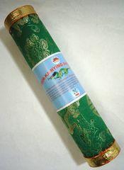 ☆即決☆ドゥッカニンインセンス(緑) ブータンの癒しのお香