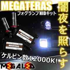 超LED】エルグランドE52系後期/LEDヘッド車/フォグランプHIDキット/H11/12000K