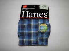 即決 Hanes  ヘインズ トランクス 前開き Lサイズ�A