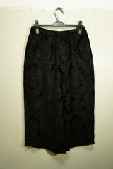 LAD MUSICIANのVELVETEEN JACQUARD CROPPED CULOTTES PANTS