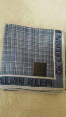 Calvinklein綿100%日本製ハンカチ