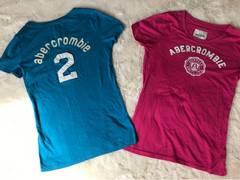 ABERCROMBIE  カワイイTシャツ2点セット