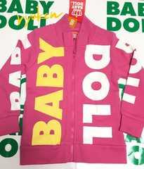 ベビードール新品☆BIGロゴジャケット100☆ベビド王冠BABYDOLL