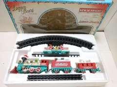 9263★1スタ★ロジャーベアー電動クリスマストレイン おもちゃ インテリア雑貨