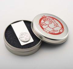 限定☆広島カープ≪スラィリー≫真鍮製メタリックマネークリップ
