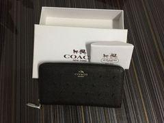 新品 COACH シグネチャー ラウンド 長財布 F59059
