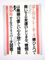 ★原芳市★「ぼくのジプシーローズ」★初版第1刷★超美本