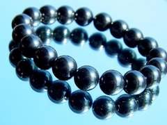 磁気有りヘマタイト§10ミリ§天然石数珠