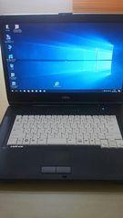 ノートパソコンwindows 10ワイド&マルチ FMV - A 8290