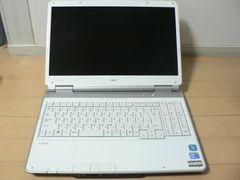 NEC◆PC-LL550WJ1BW◆LL550/W◆i3 ・ジャンク