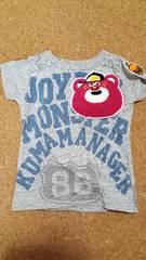 JAM☆ワッペンTシャツ☆100
