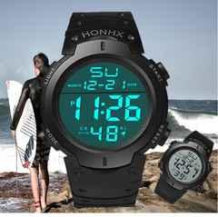 日本未発売!防水腕時計 ダイバーズウォッチ アウトドア 多機能