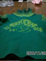 ブーフーウーのセーター
