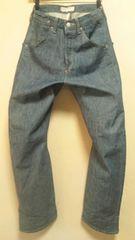 日本製¶Levi's[リーバイス]★エンジニアドジーンズ・レギュラーデニムパンツ82cm