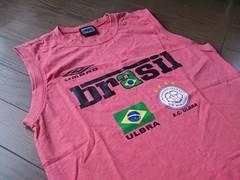 ★UMBRO製ノースリーブTシャツ/アンブロデサント*ブラジル