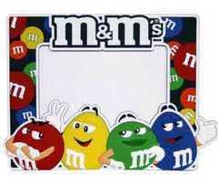 m&m's★ フォトフレーム 立体的です エムアンドエムズ