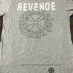 新品 氷室京介 personal jesus REVENGE Tシャツ L グレー