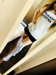 白の可愛いプリントTシャツ(/ω\)