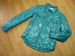 ラングラーW9577シャツ型キルティングジャケット中綿ジャケット