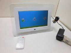 3212☆1スタ☆デジタルフォトフレーム リモコン付 DS-DA800WH