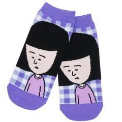 ☆新品☆ちびまる子ちゃん≪野口さんチェック≫女性用靴下♪