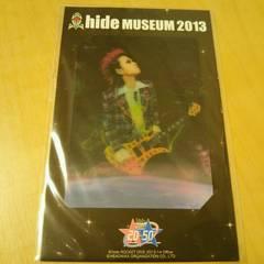 hide MUSEUM2013 メモリアルカード