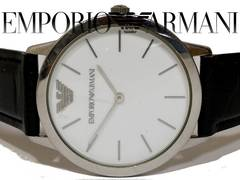 極レア 1スタ★エンポリオアルマーニ【クラシック】メンズ腕時計