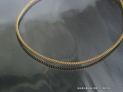 【品質保証】K18 2面 喜平 ブレスレット 1.1g 18cm 引輪18金