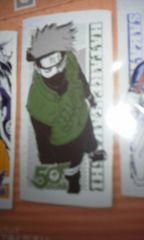 少年ジャンプ50周年バスタオル NARUTO はたけカカシ先生