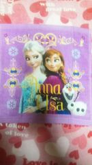 アナと雪の女王ウォッシュタオルパープル