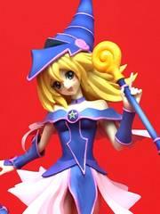◆遊戯王★ブラック・マジシャン・ガール★フィギュア★非売品