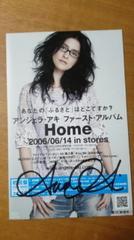 アンジェラ・アキ2006サイン入り予告ガード