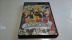 PS2/ドラゴンボールZ『インフィニットワールド』★ディスク綺麗★【送料120円〜】
