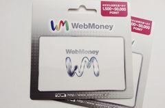 WebMoney ウェブマネー 26000円分 ☆モバペイ各種対応