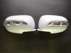 日産 LEDドアミラーカバー シーマ Y32