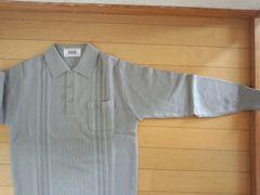 グレーの長袖シャツ【Mサイズ】