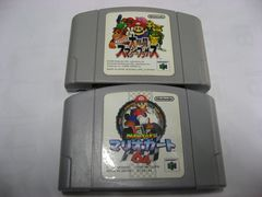 N64スマブラ・マリオカート2本セット