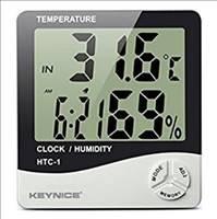 ★売れてます★ デジタル温湿度計 時計 アラーム 大画面